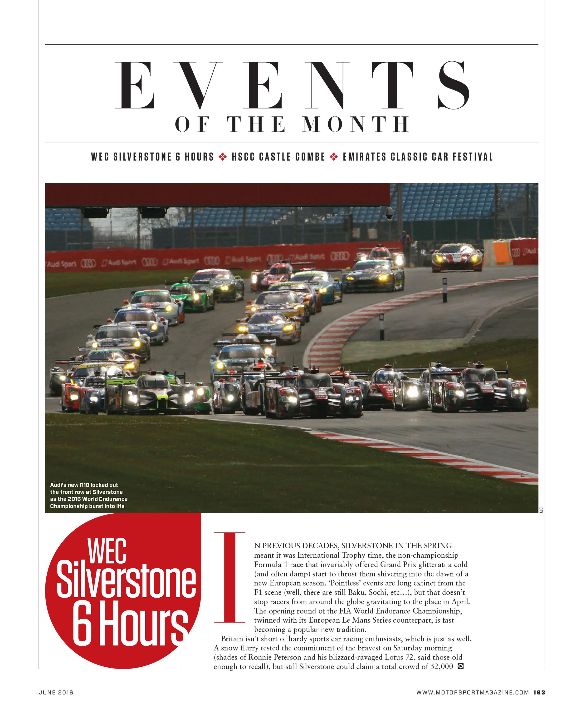 WEC Silverstone 6 Hours | Motor Sport Magazine Archive