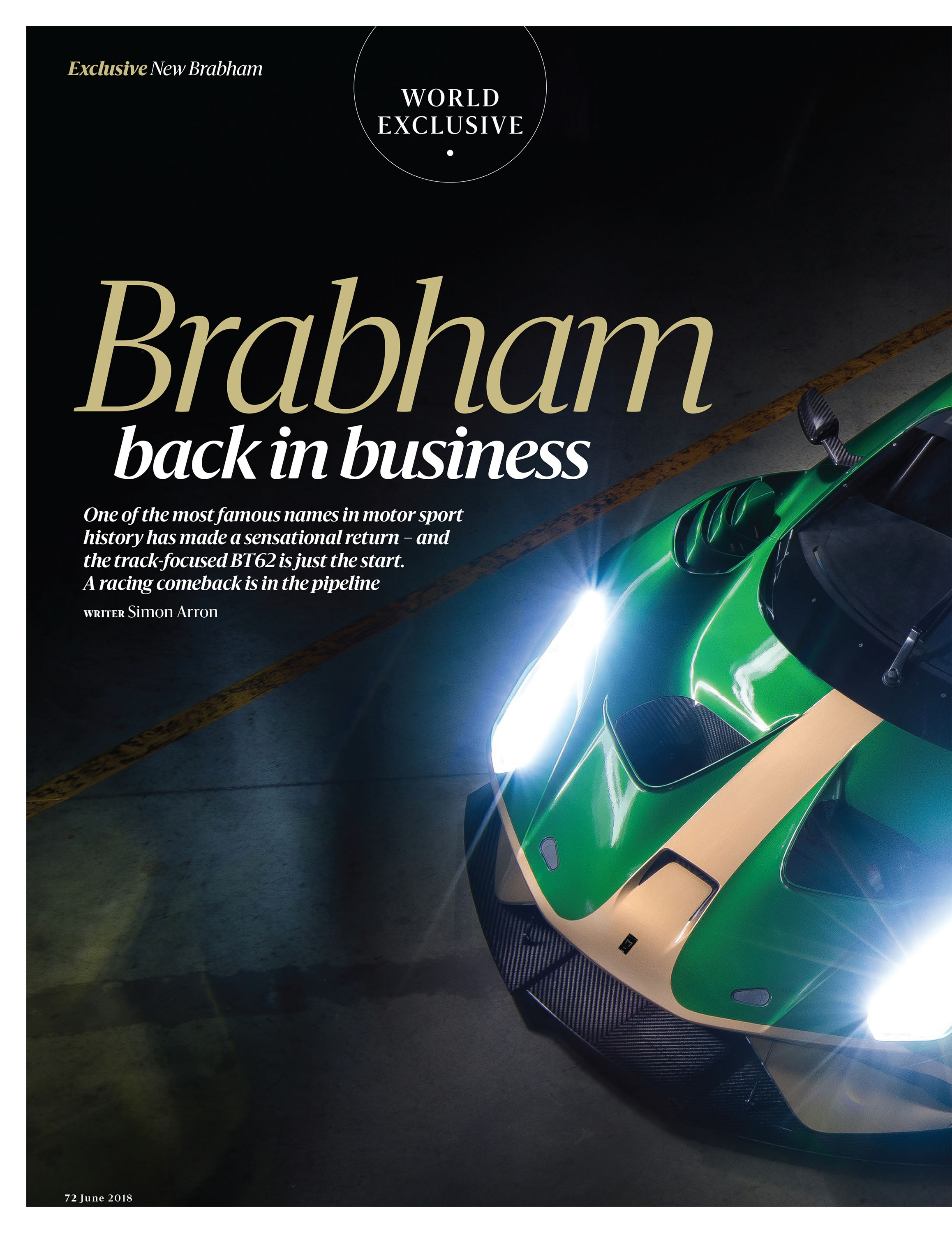 Brabham back in business image