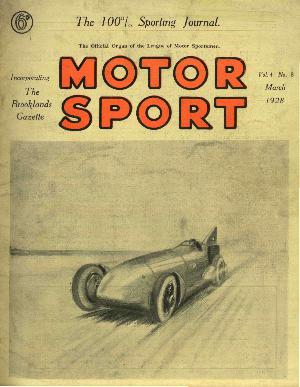 Cover image for March 1928