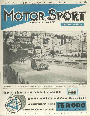 Cover of archive issue March 1934