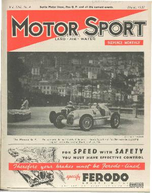 Cover of archive issue March 1937