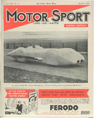 Cover of archive issue March 1938