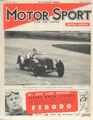Cover of archive issue March 1939