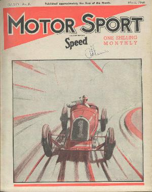 Cover of archive issue March 1940