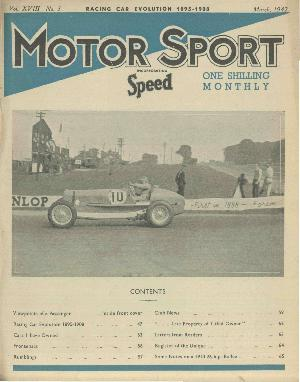 Cover of archive issue March 1942