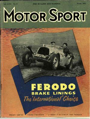 Cover of archive issue March 1953