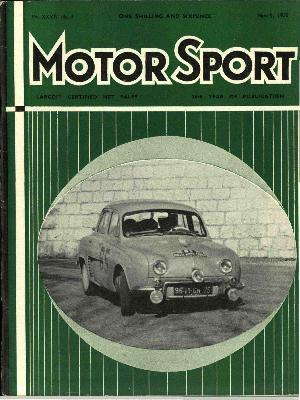 Cover image for March 1958