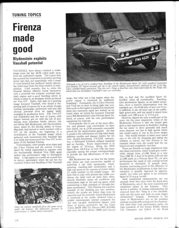 Tuning topics | Motor Sport Magazine Archive