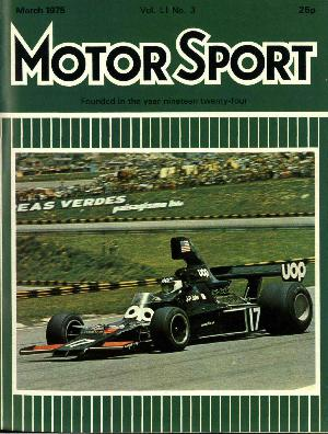 Cover of archive issue March 1975