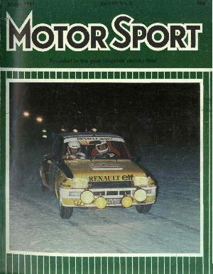 Cover image for March 1981