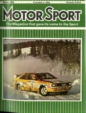 Cover of archive issue March 1984