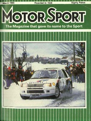 Cover image for March 1985