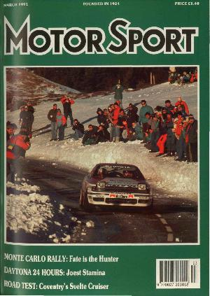 Cover of archive issue March 1991
