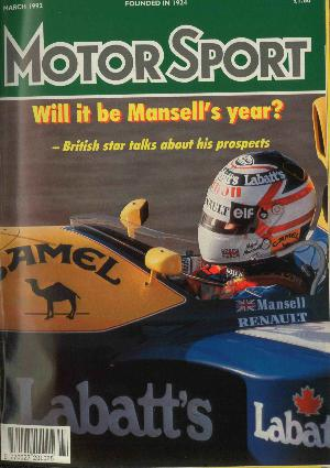 Cover image for March 1992