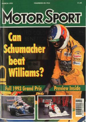 Cover of archive issue March 1993