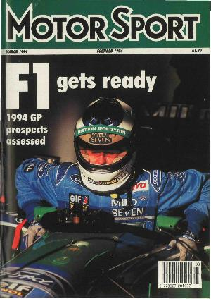 Cover of archive issue March 1994