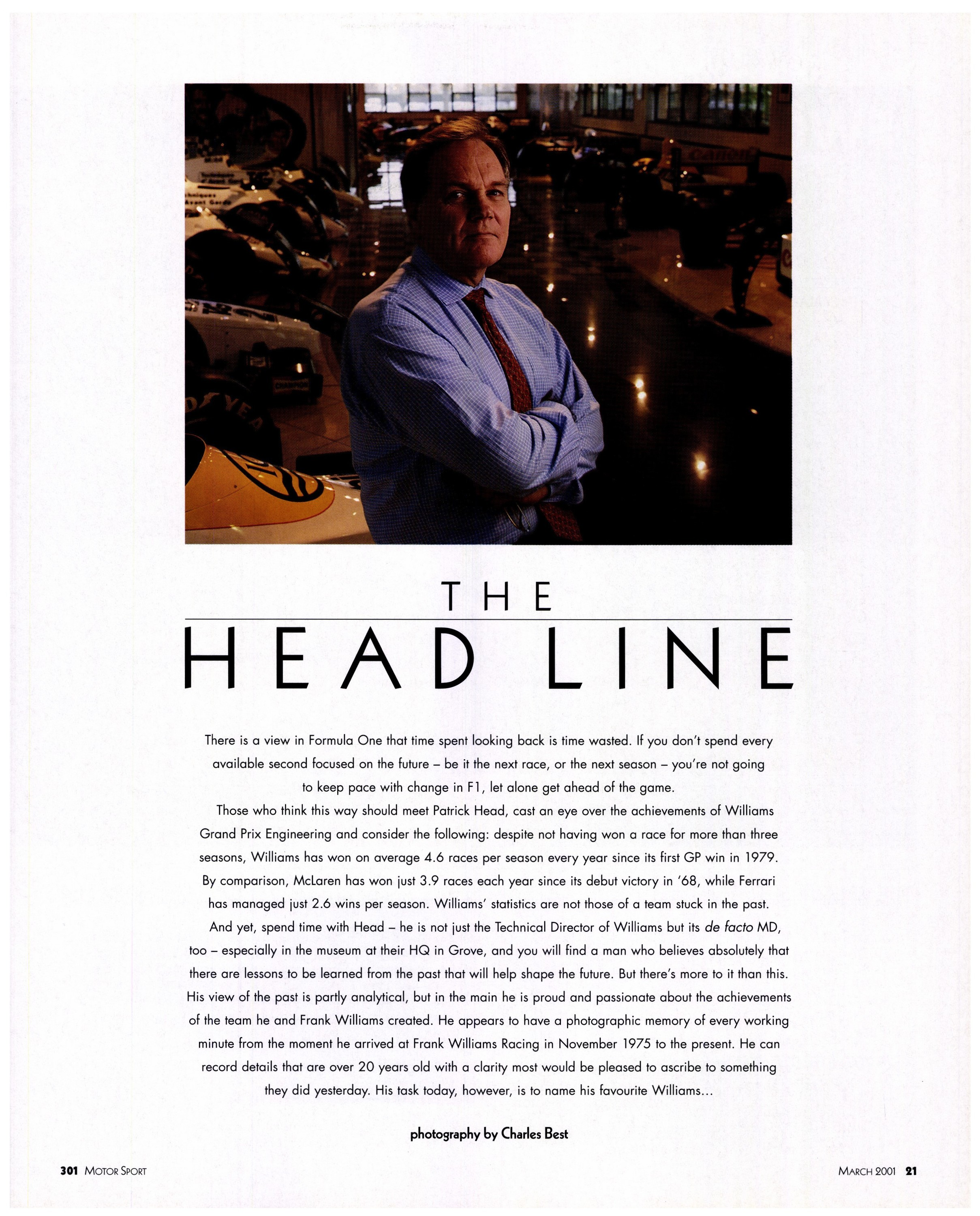 the head line image