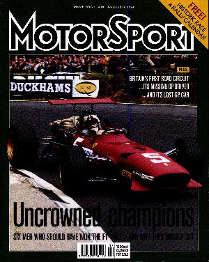 Cover image for March 2003