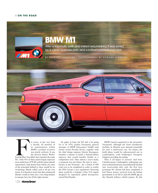BMW M1 image