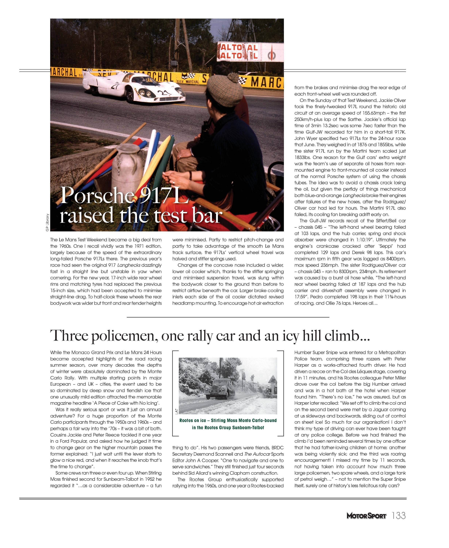 Porsche 917L raised the test bar image