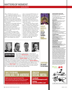 Page 12 of March 2014 archive issue thumbnail