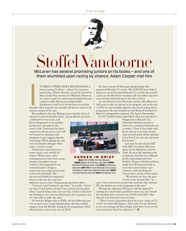 Stoffel Vandoorne image