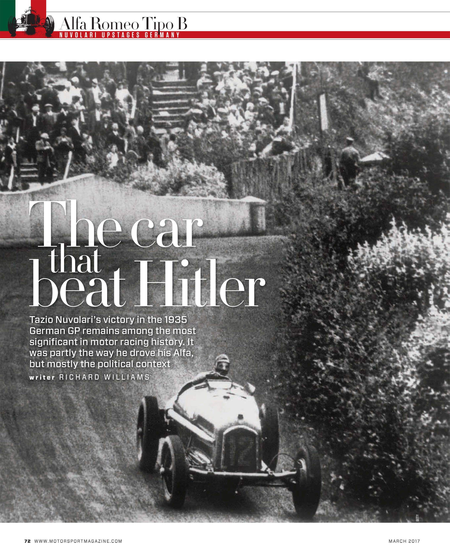 The car that beat Hitler image