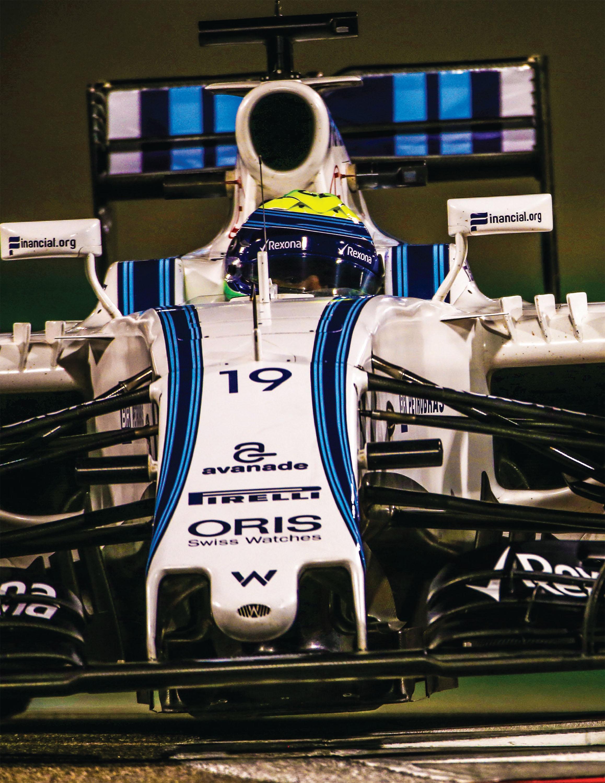 Lunch with... Felipe Massa image