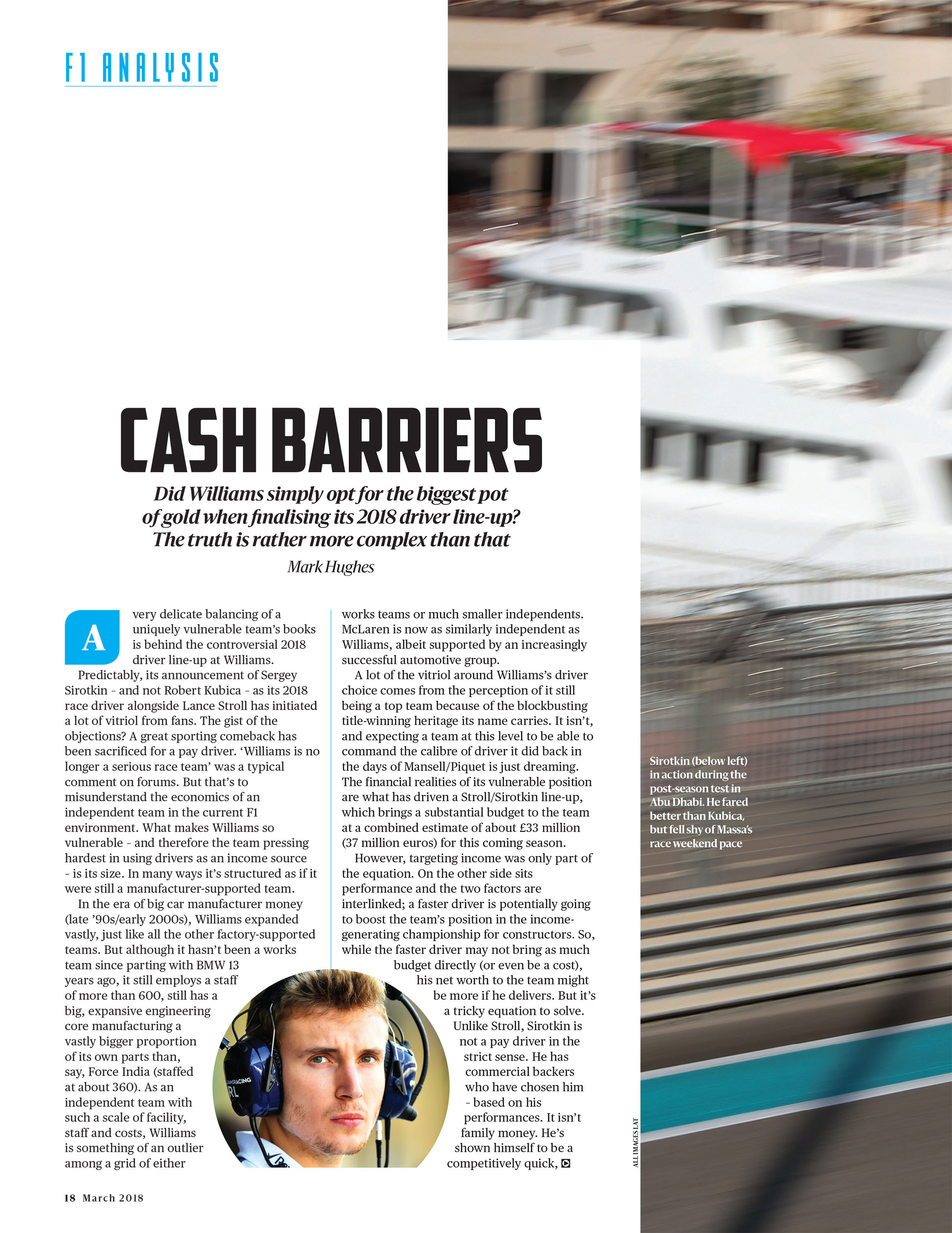 Cash barriers image