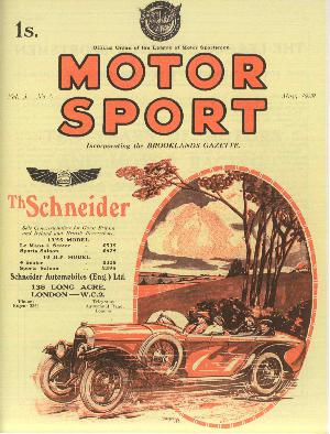 Cover of archive issue May 1929