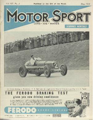 Cover of archive issue May 1938