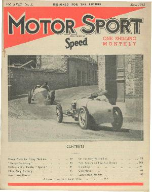 Cover of archive issue May 1942