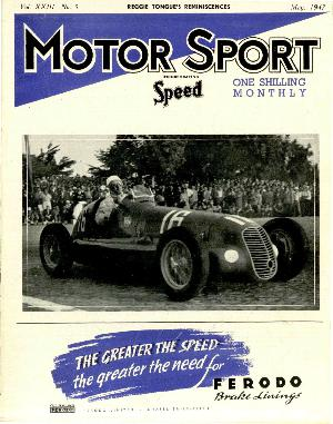 Cover of archive issue May 1947