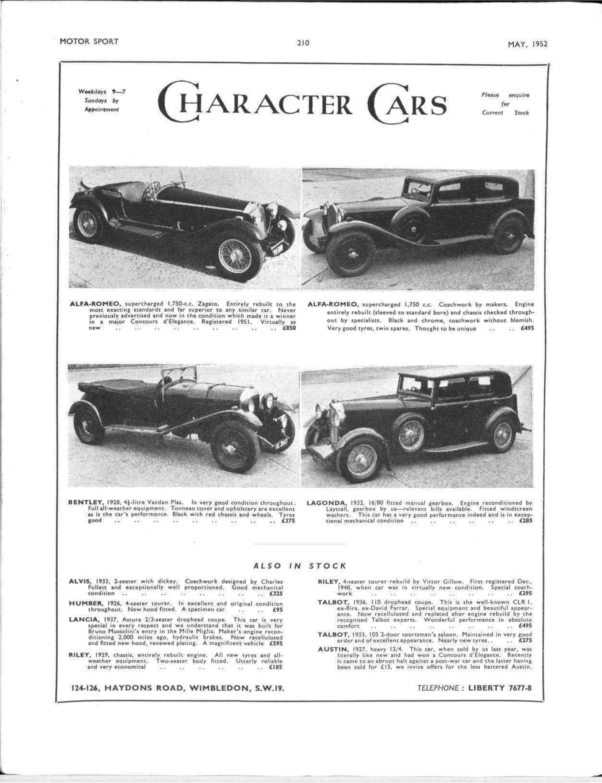 Connaught prices - Motor Sport Magazine
