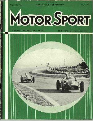 Cover of archive issue May 1956