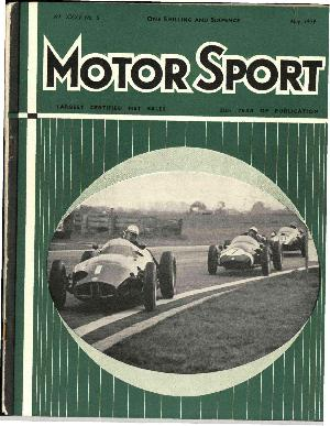 Cover of archive issue May 1959