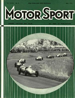 Cover of archive issue May 1960