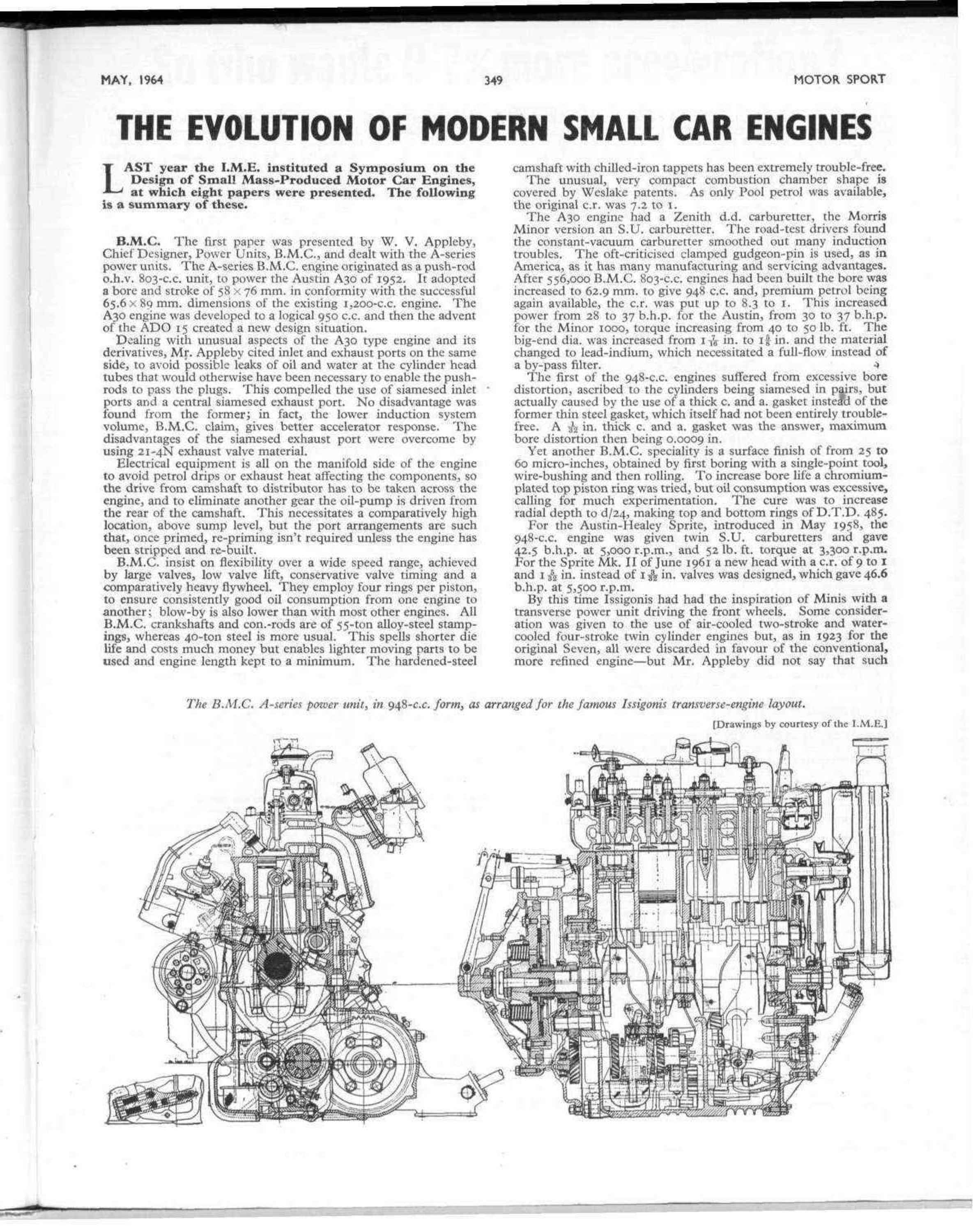 The Evolution of Modern Small Car Engines | Motor Sport Magazine Archive