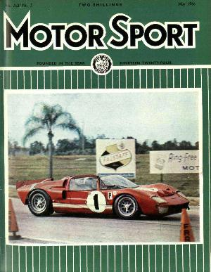 Cover of archive issue May 1966