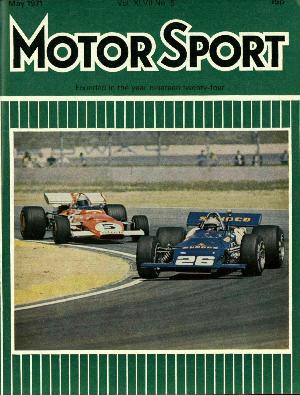 Cover image for May 1971