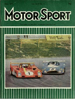 Cover of archive issue May 1973