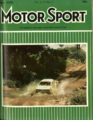 Cover image for May 1978