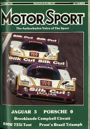 Cover of archive issue May 1987