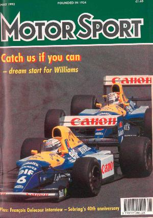 Cover of archive issue May 1992