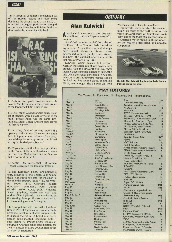 Obituary | Motor Sport Magazine Archive