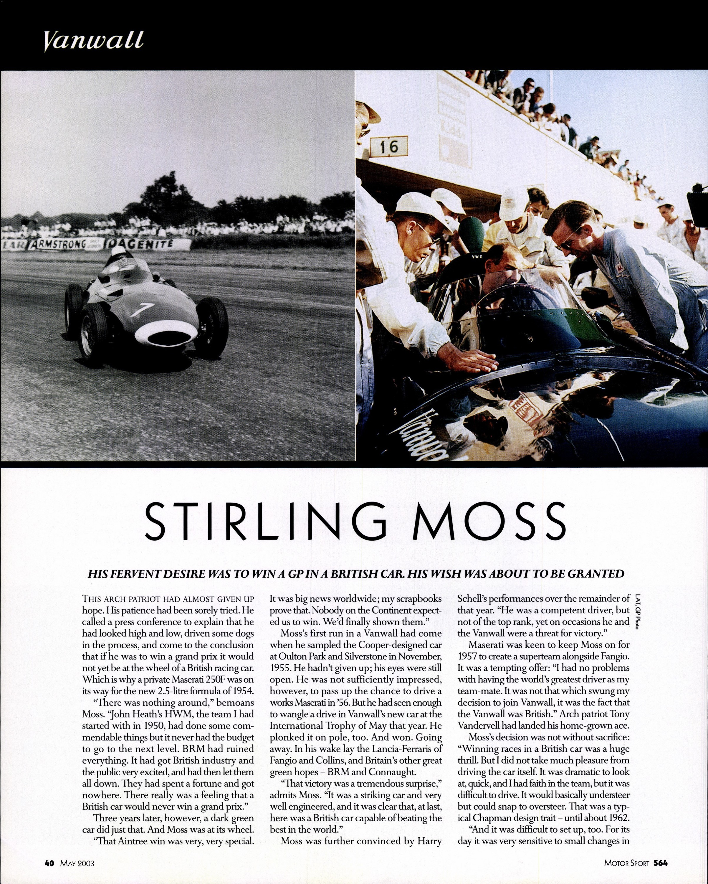 stirling moss image