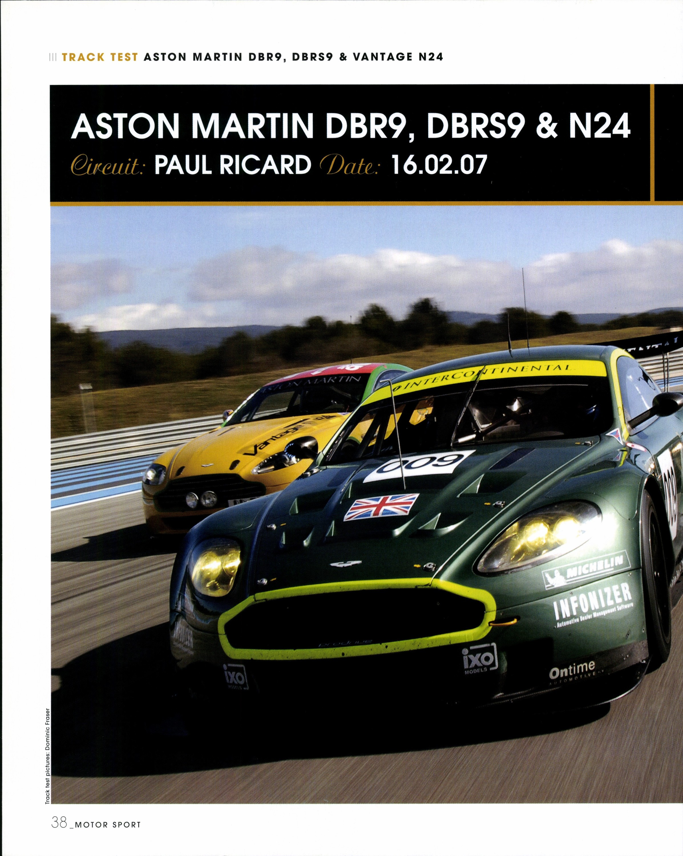 Aston Martin DBR9, DBRS9 & N24 image
