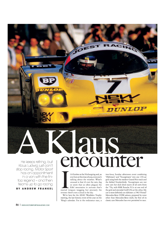 a klaus encounter image