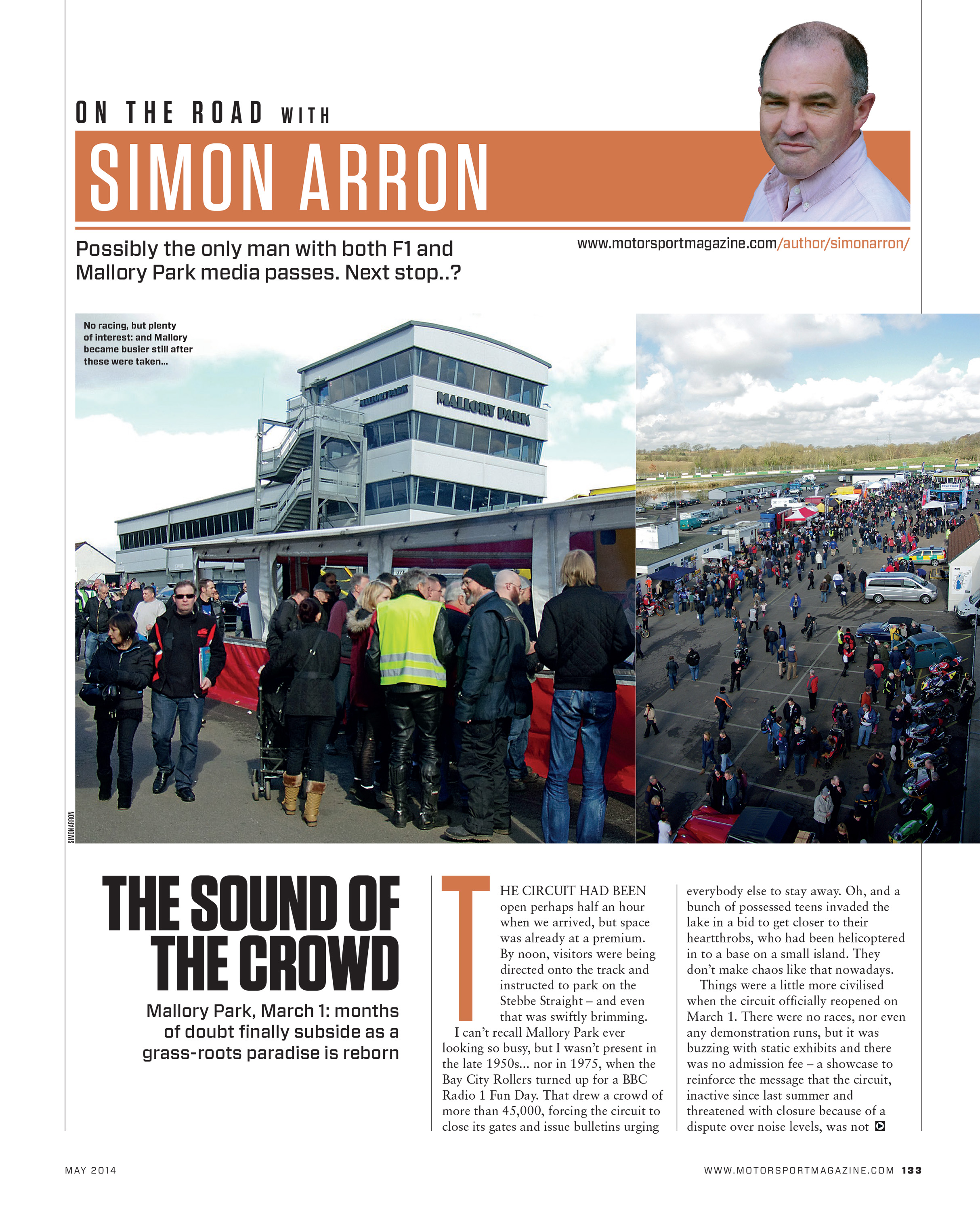 The sound of the crowd   Motor Sport Magazine Archive