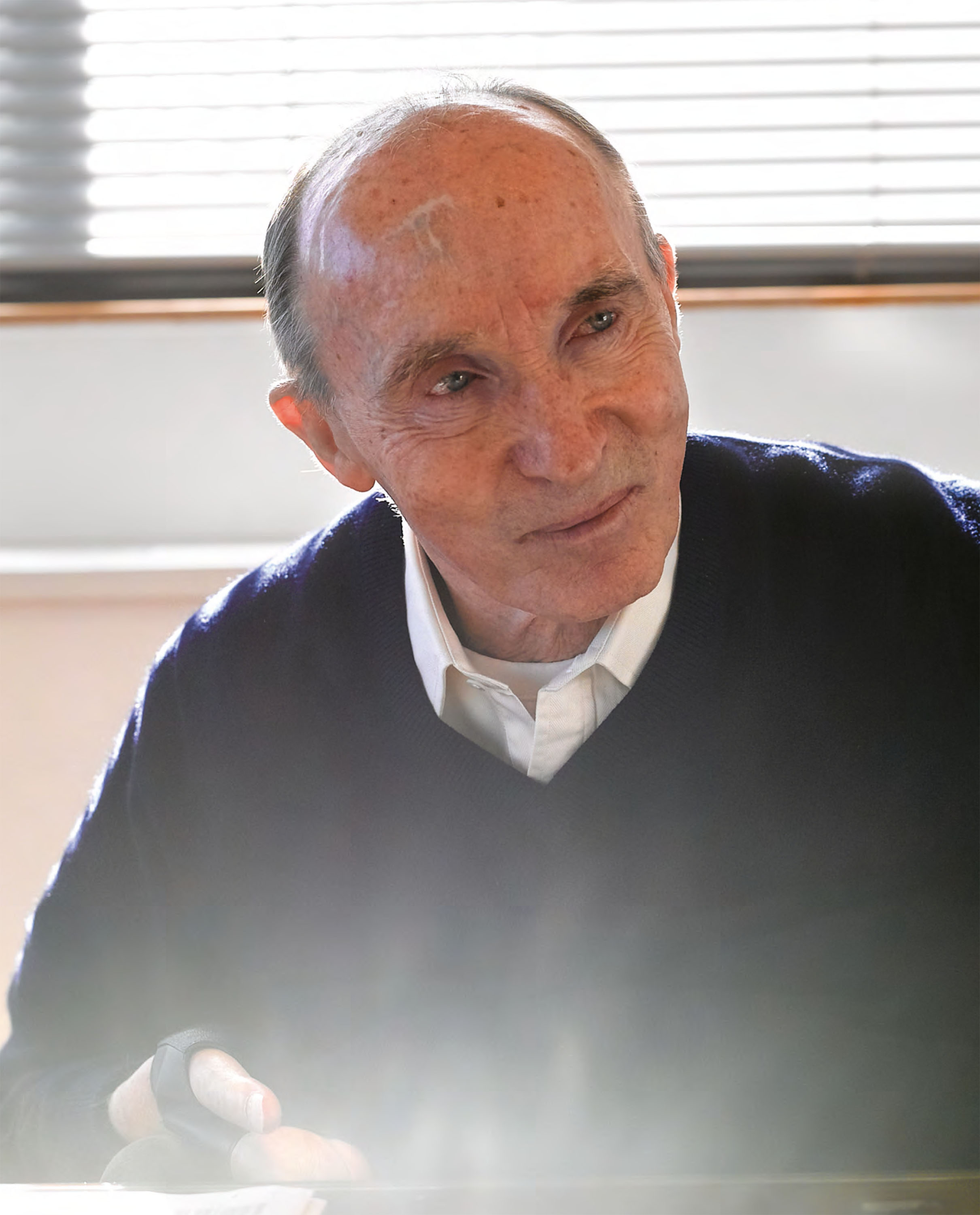 Lunch with... Sir Frank Williams image